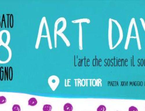 """il 18 giugno """"Art Day: l'arte che sostiene il sociale"""""""