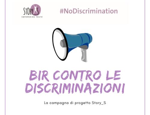 BIR contro le discriminazioni: la campagna di progetto Story_S